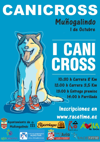 Canicross Muñogalindo