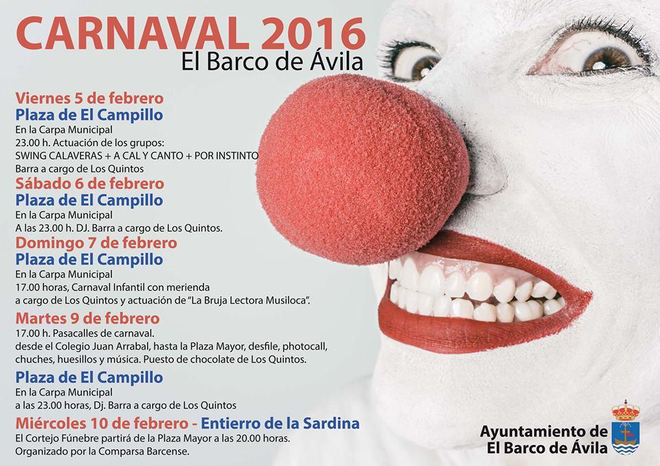 Carnaval 2016 :: El Barco de Ávila
