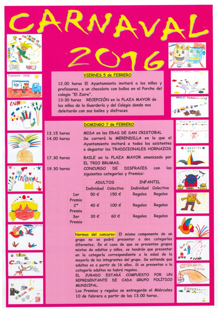 Carnavales 2016 :: Burgohondo
