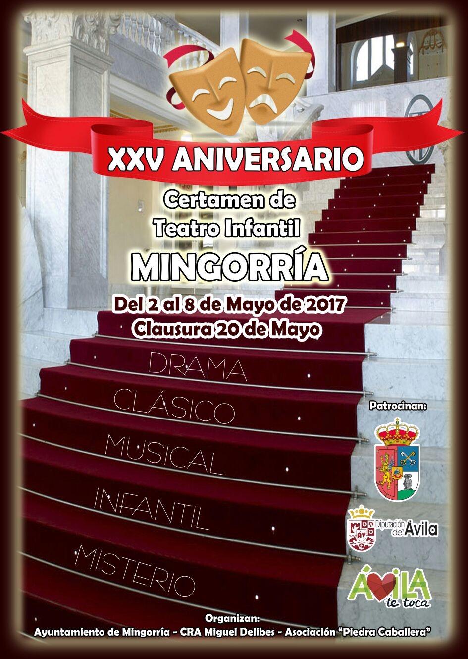 Certamen Teatro Mingorria 2017