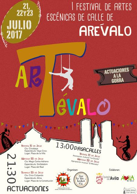 Festrival de Calle 2017 Arévalo