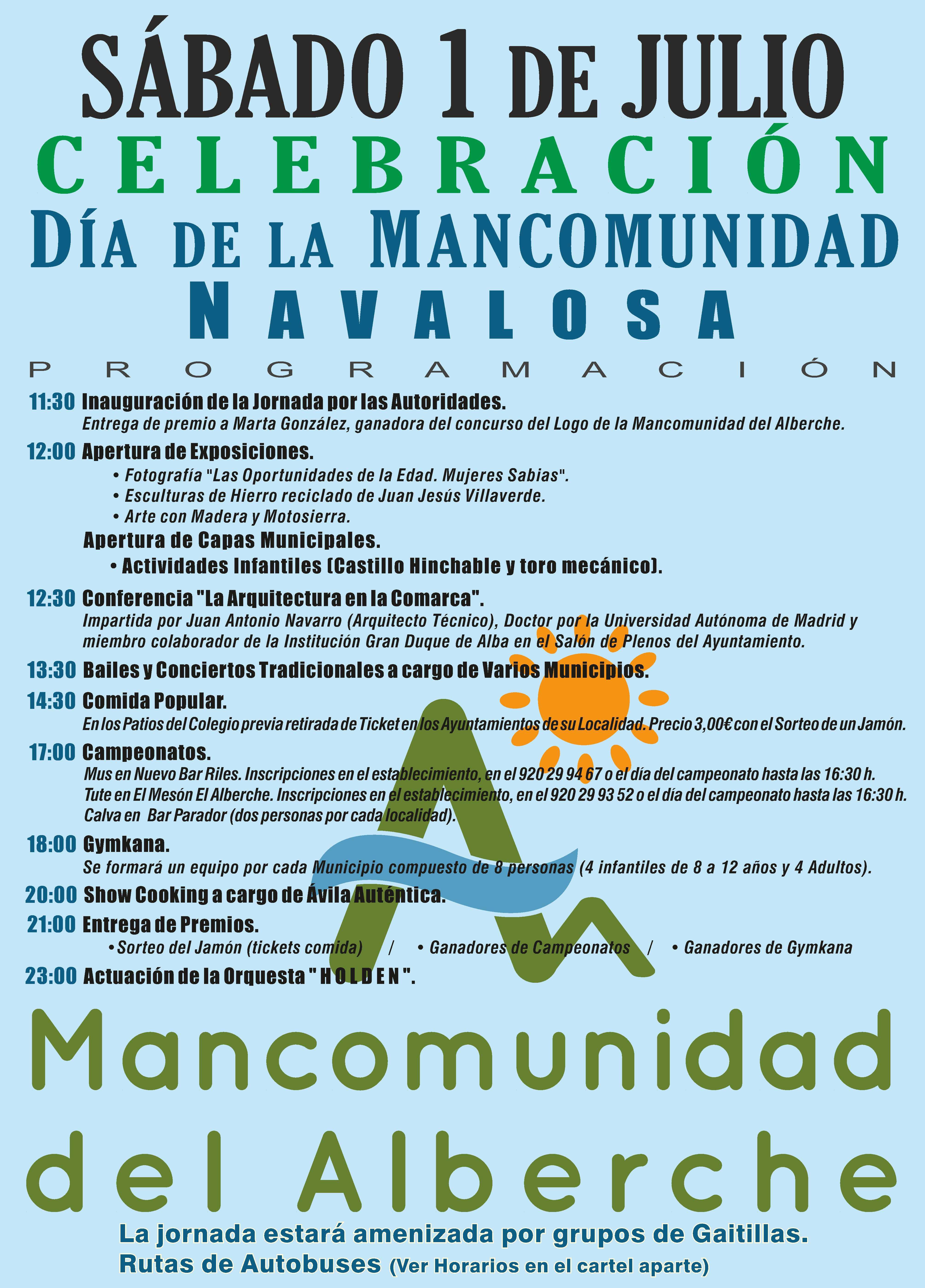 Fiestas Mancomunidad 2017