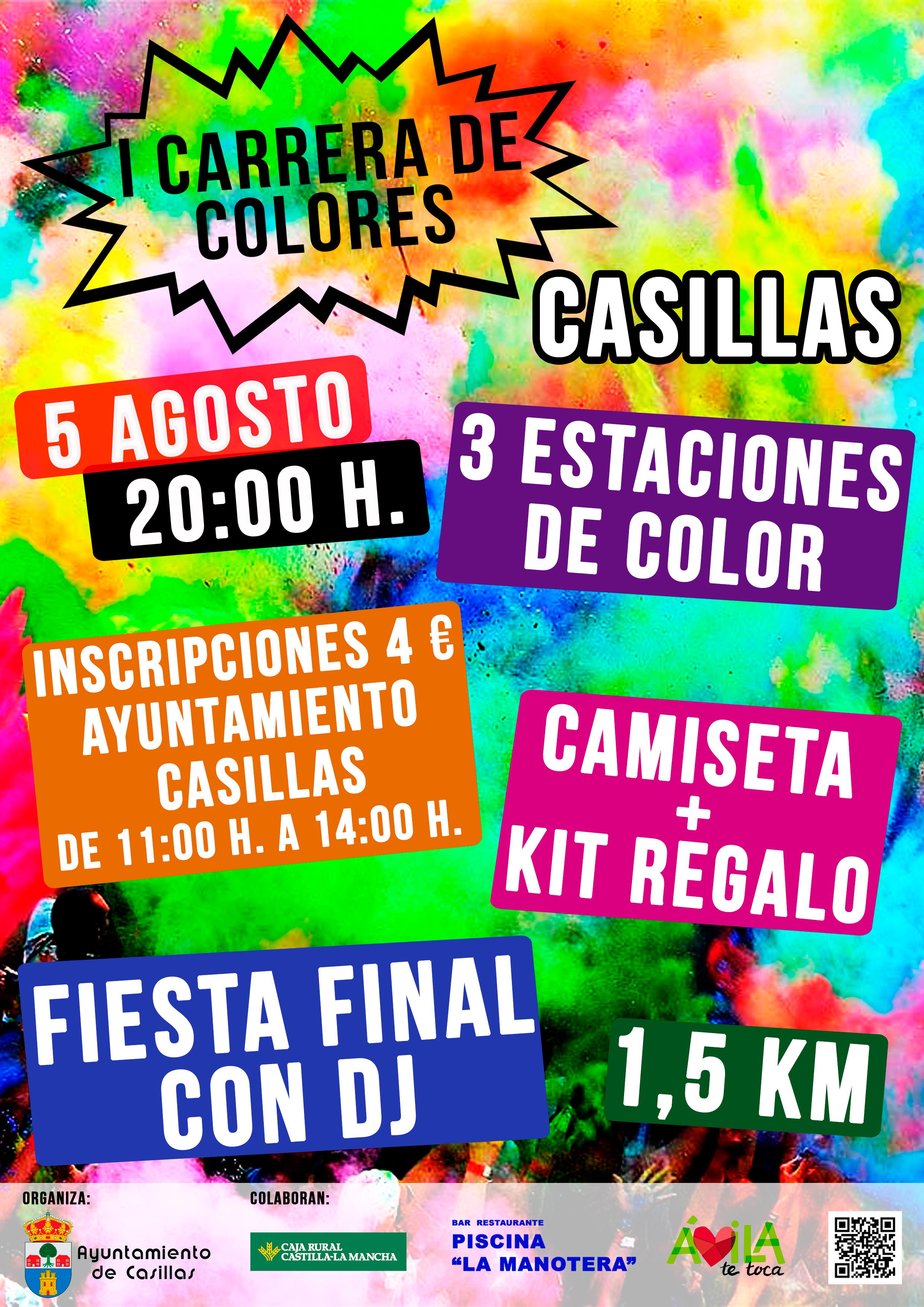 I Carrera de Colores en Casillas