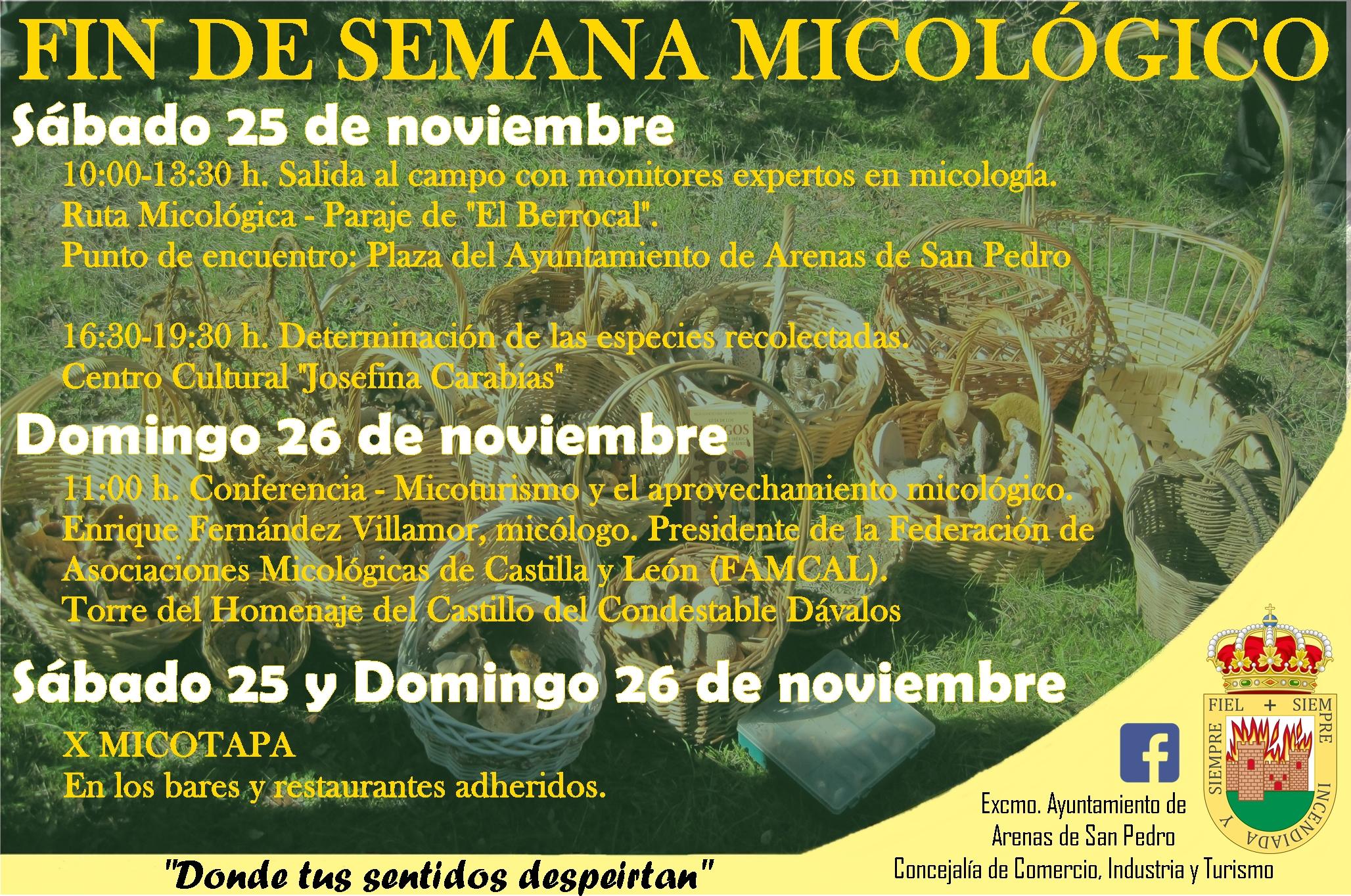 Jornadas Micologicas Arenas de San Pedro