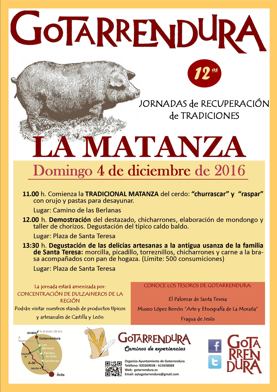La Matanza 2016 Gotarrendura