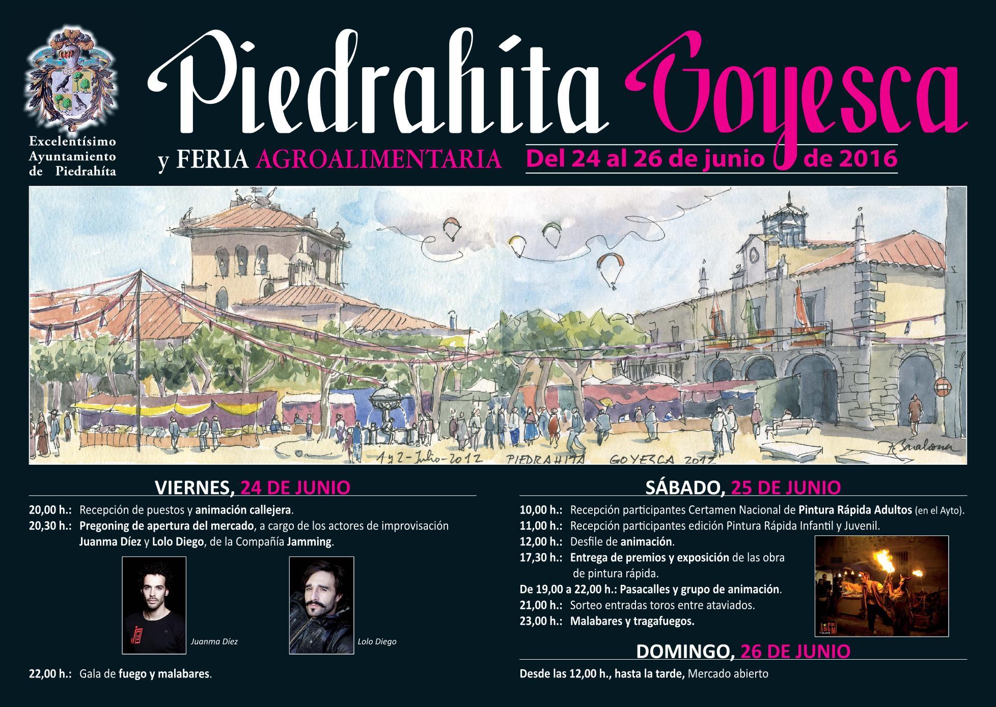 Piedrahita Goyesca 2016