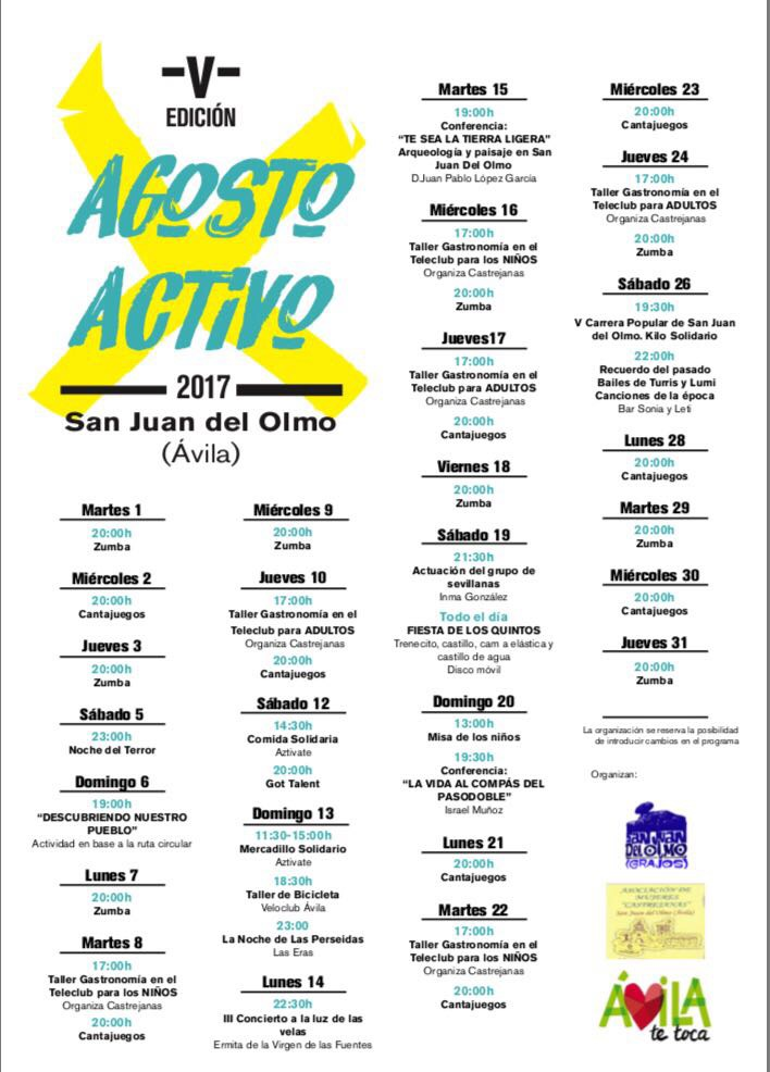 San Juan del Olmo 2017