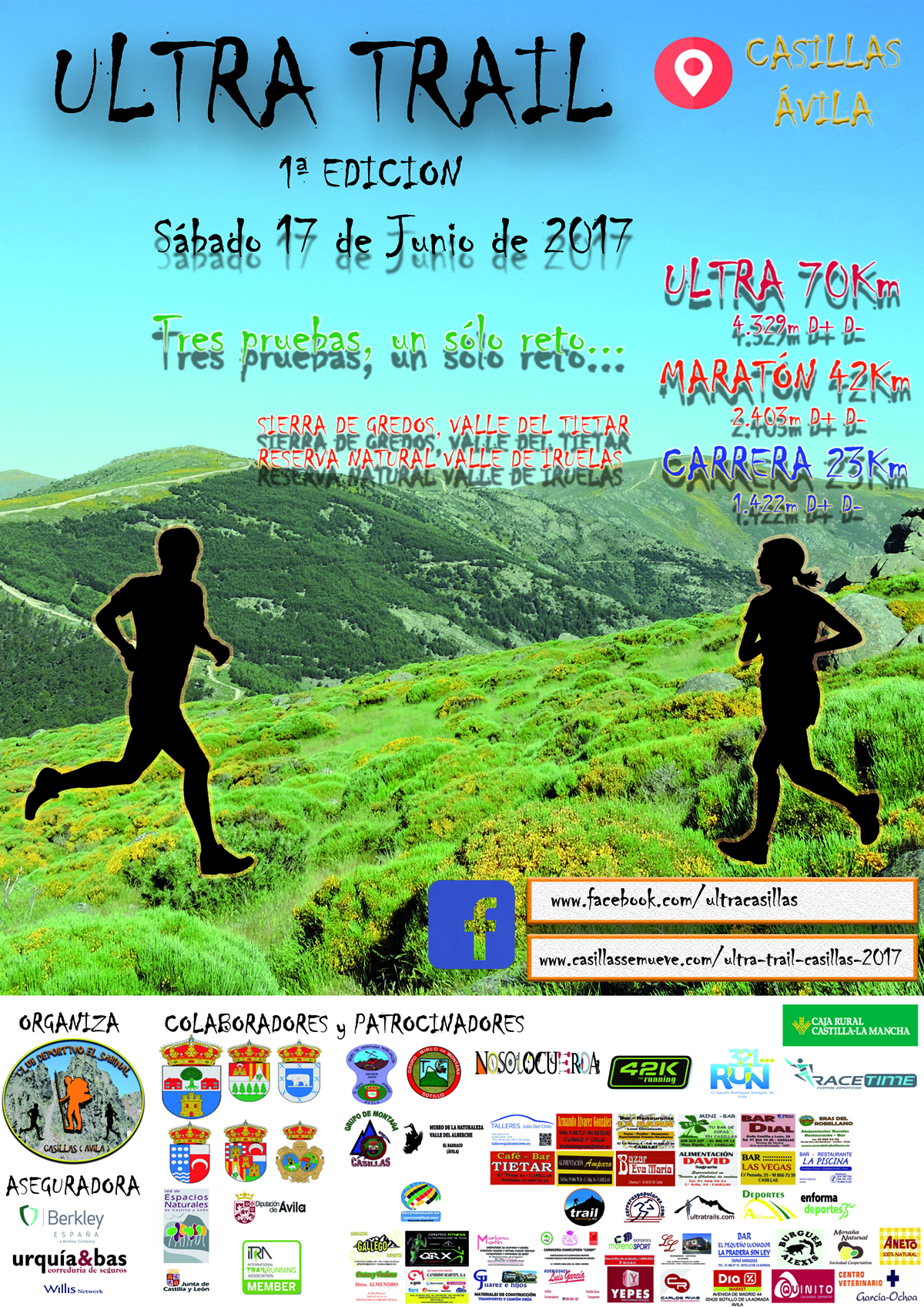 Ultra Trail Casillas 2017