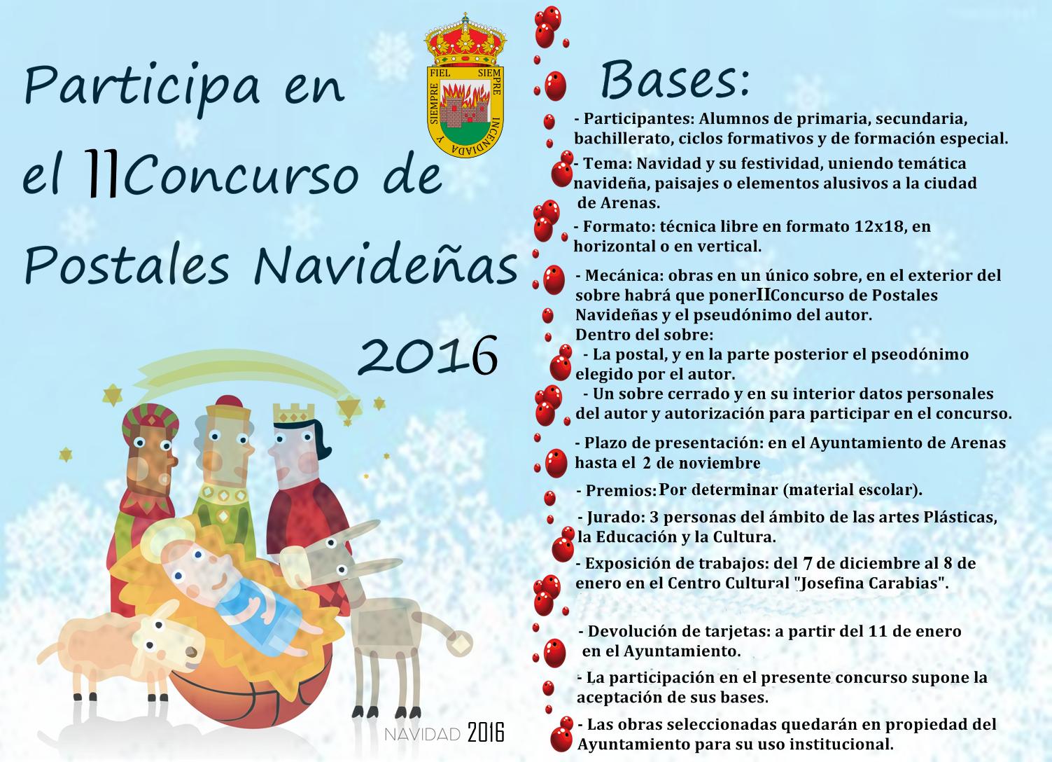 Concurso de Postales en Arenas de San Pedro