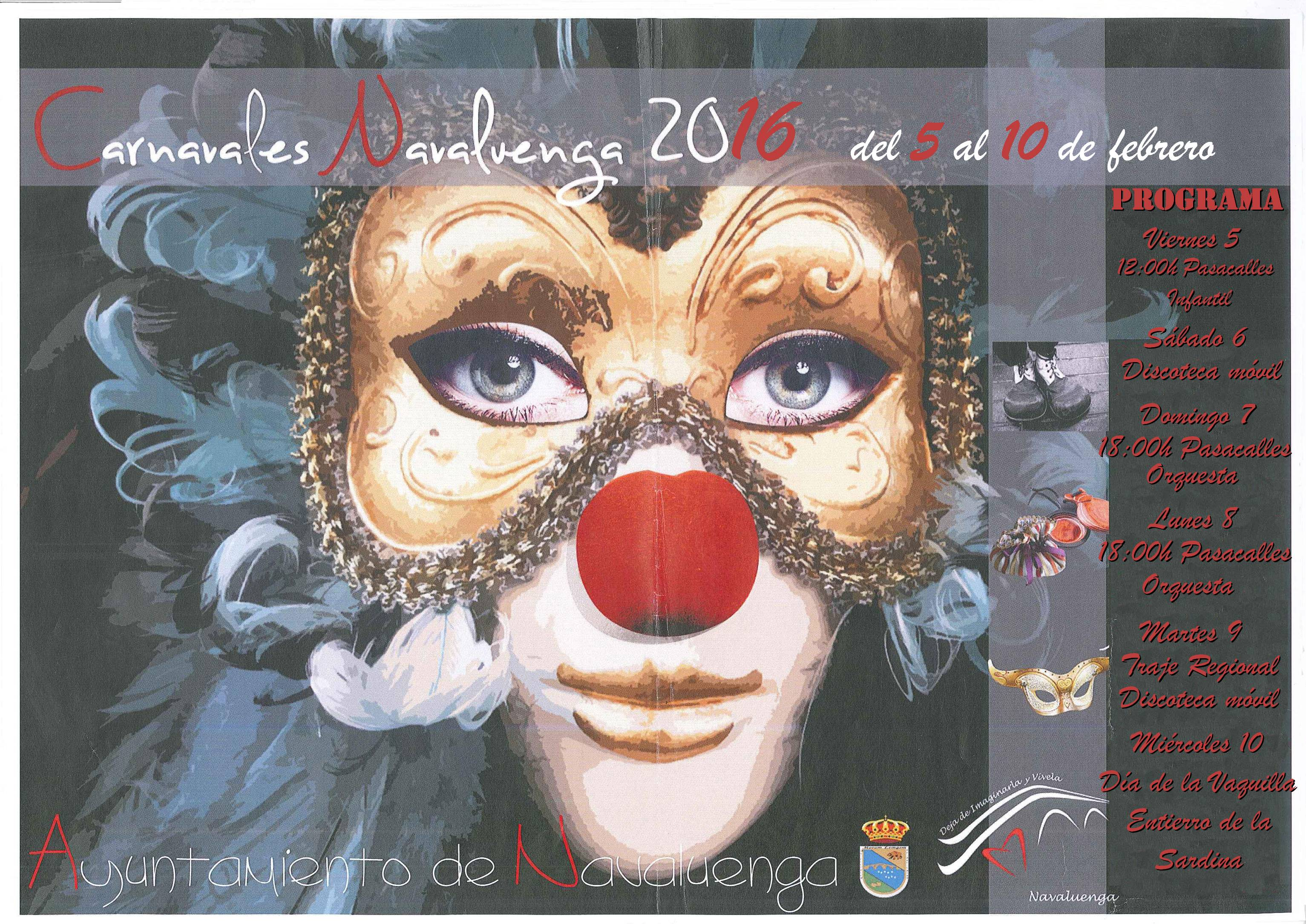 Navaluenga Carnaval 2016