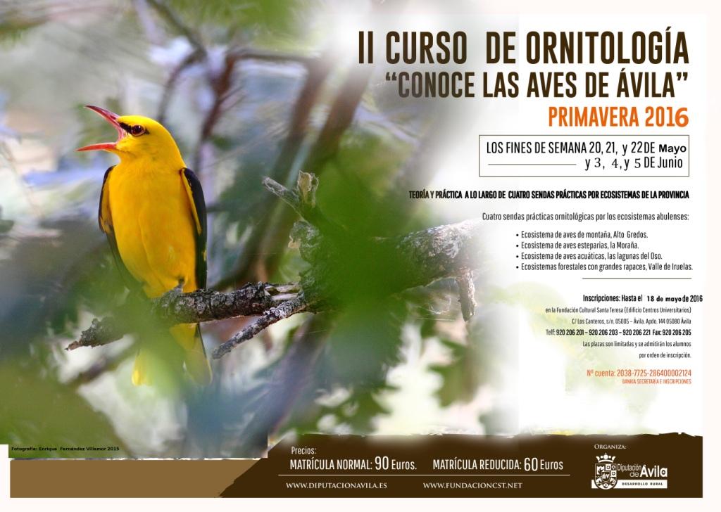 Curso de Ornitologia