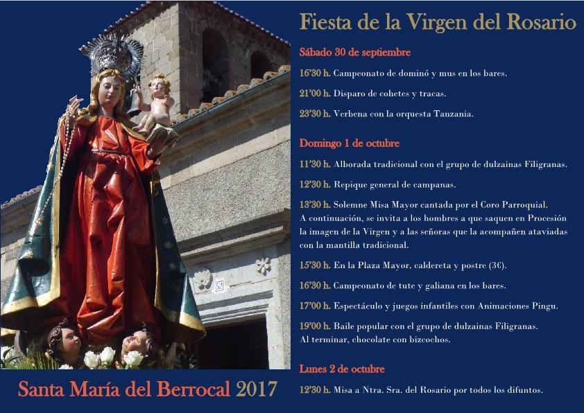 Virgen del Rosario 2017