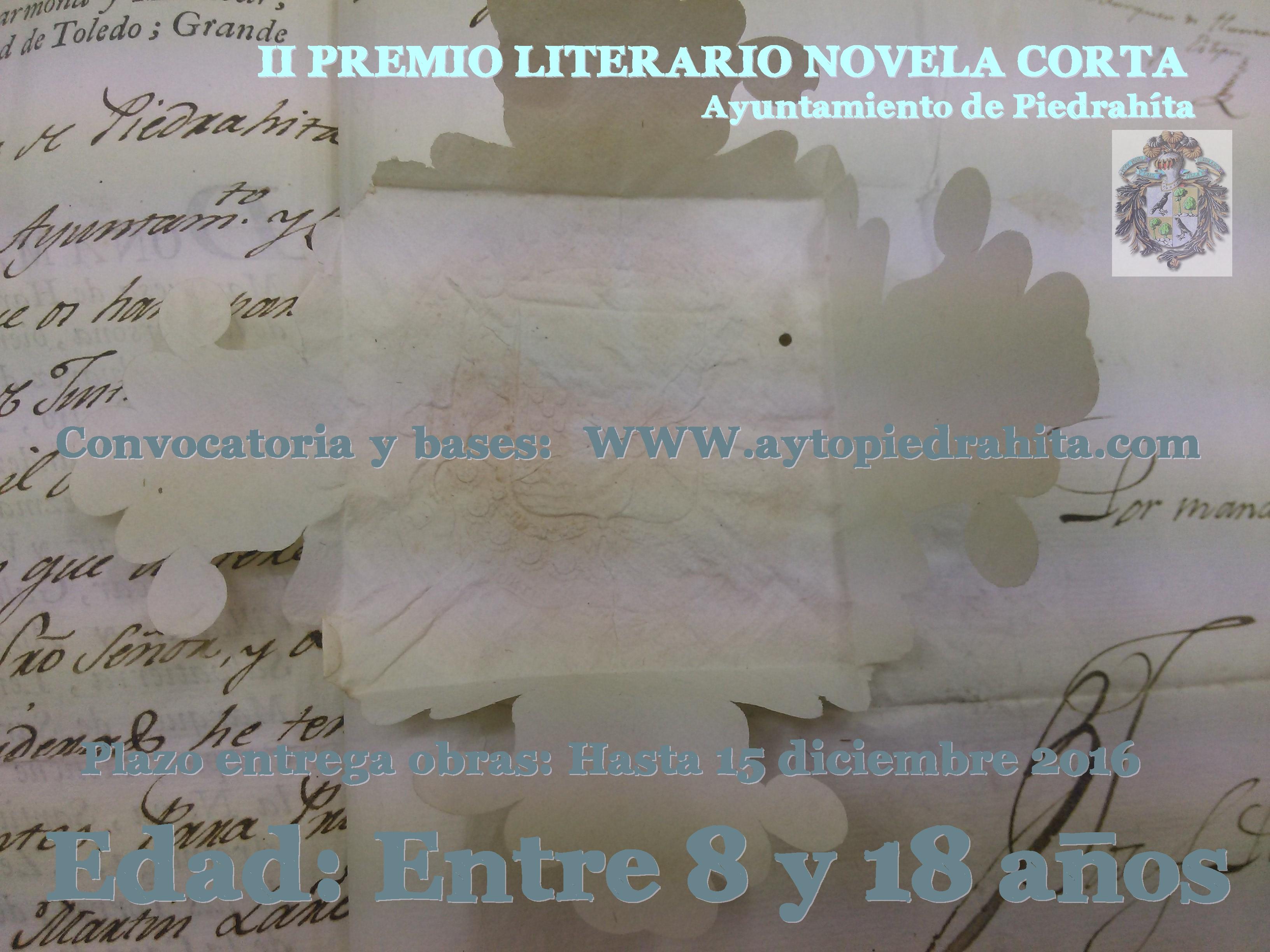 Concurso novela corta Piedrahita