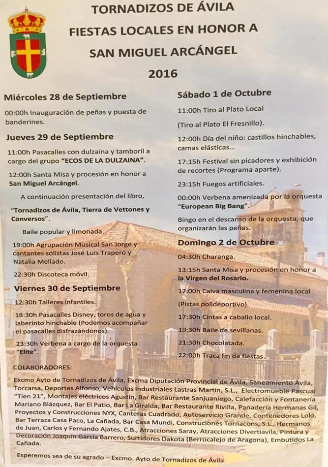 Fiestas Tornadizos 2016