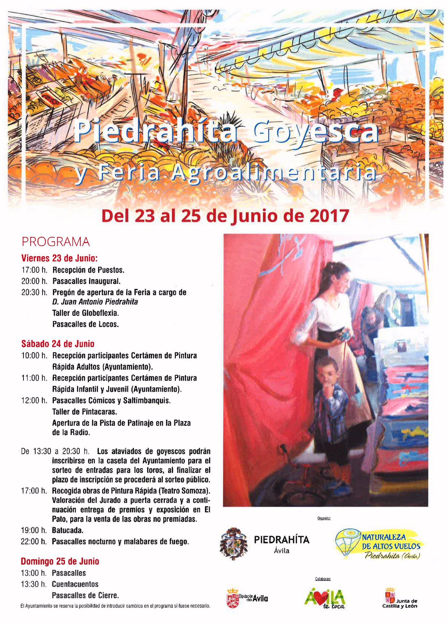 Piedrahita Goyesca 2017